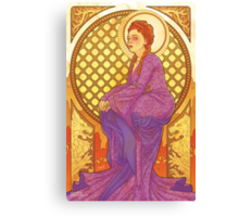 North Nouveau Canvas Print