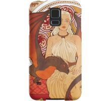 Fire Nouveau Samsung Galaxy Case/Skin