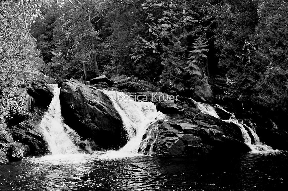 Rock Waterfall by Jessica Kruer