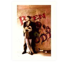 Not a Photo 1.1: Bren and Jodi Art Print