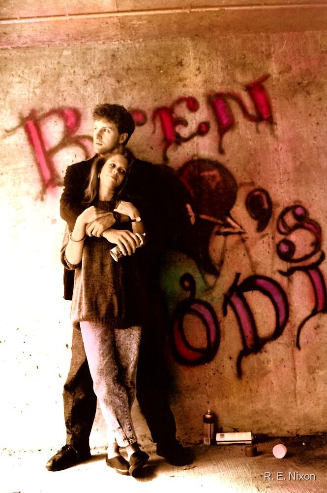 Not a Photo 1.1: Bren and Jodi by R. E. Nixon
