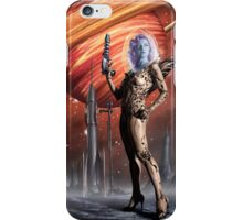 Retro Robot Painting 002 iPhone Case/Skin