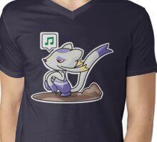 Mienshao Mens V-Neck T-Shirt