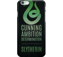 Harry Potter Inspired Slytherin House print iPhone Case/Skin