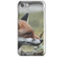 What does the fox smell? iPhone Case/Skin