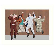 Anchorman Flash Art Print