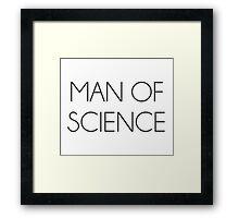 Man Of Science Framed Print