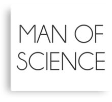 Man Of Science Canvas Print