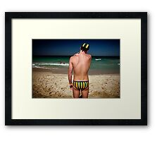 Scarboro Boy Framed Print
