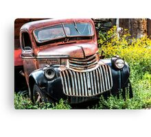"Jerome, Arizona - ""Tuxedo"" Canvas Print"