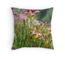 Pleasant Purple Throw Pillow
