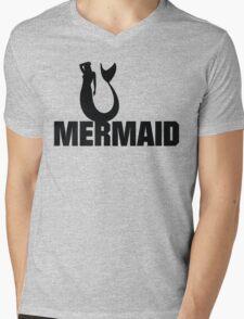 Mermaid Mens V-Neck T-Shirt