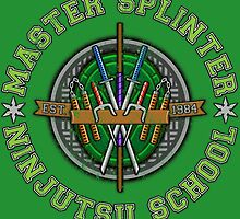 Master Splinter's Ninjutsu School (Vintage) by DrRoger