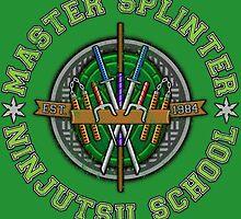 Master Splinter's Ninjutsu School (Vintage) by DrRoger