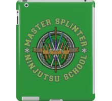 Master Splinter's Ninjutsu School (Vintage) iPad Case/Skin