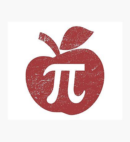Apple Pie Pi Day Photographic Print