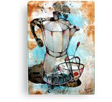 Art Of Coffee  Canvas Print
