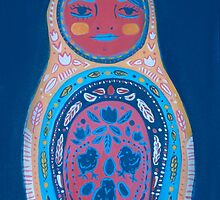 3 Chicks Matryoshka by apcomfort
