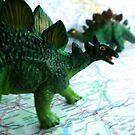 Stegosaurus on the Campaign Trail. by KjunSL1