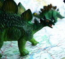 Stegosaurus on the Campaign Trail. by KjunSL1