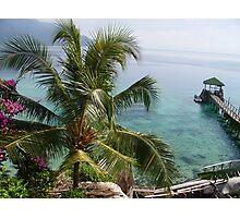 A sea view Photographic Print