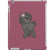 Black skull bow sheep iPad Case/Skin