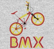 BMX (Red & Yellow) Kids Tee