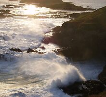 Crashing waves by andrealjc
