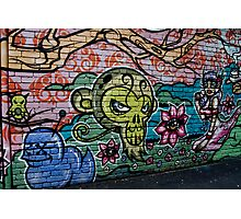 Melbourne Graffiti Photographic Print