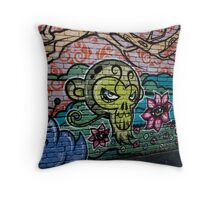 Melbourne Graffiti Throw Pillow