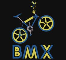 BMX (Blue & Yellow) Kids Clothes