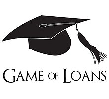 Game of College Graduation Loans Photographic Print