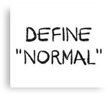 Define Normal Canvas Print