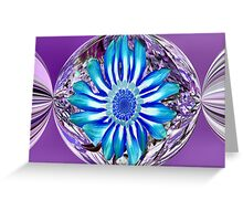 Lolly Flower Greeting Card