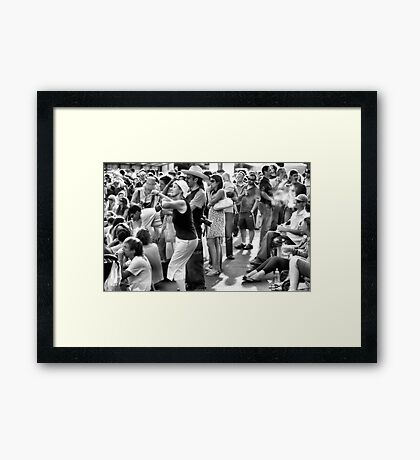 Dance Like There's No One Watching... Framed Print