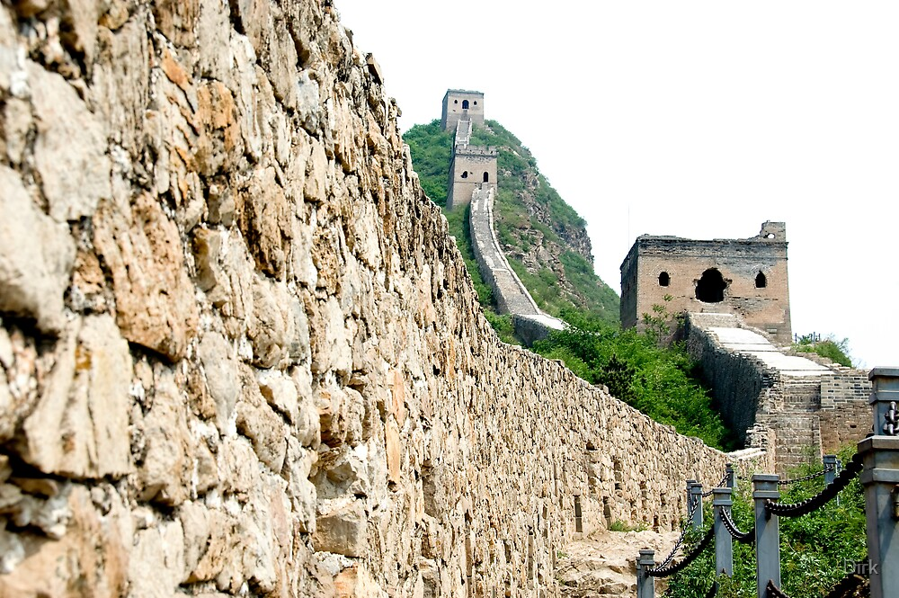 The Great Wall by Dirk
