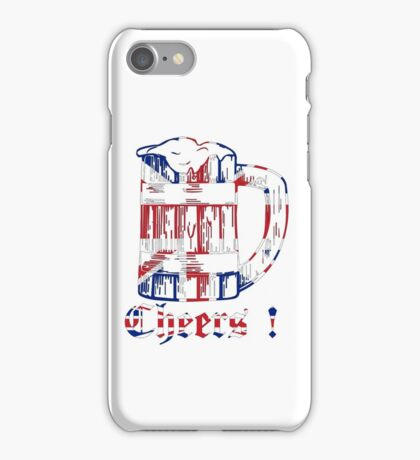 English Beer Glass iPhone Case/Skin