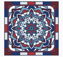 Ethnic Ornament With Mandala Kids Clothes