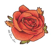 All Time Low rose by Lauraaan182