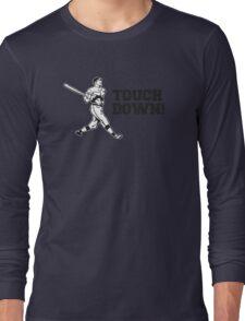 Touchdown Homerun Baseball Football Sports Long Sleeve T-Shirt