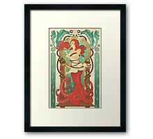 Deep Sea Kiss Framed Print