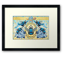 Royal Honey Framed Print
