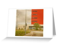 Italy Industrial Greeting Card