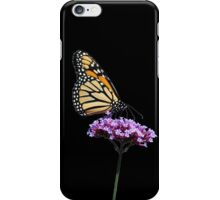 Monarch on mauve t-shirt/leggings/merchandise iPhone Case/Skin