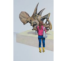 Museum X (Triceratops), Pencil on paper, 57x39cm, 2013. Photographic Print