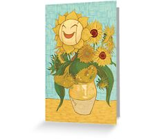 Sunflora Greeting Card