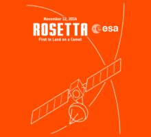 Rosetta -- First to Land on a Comet Kids Clothes
