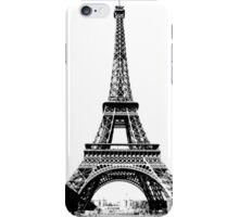 Eiffel Tower Digital Engraving iPhone Case/Skin