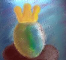 The King and the hairy egg by Pedra