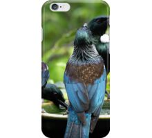 Look at those two old Buzzards with their noses stuck up in the air.....!..! iPhone Case/Skin